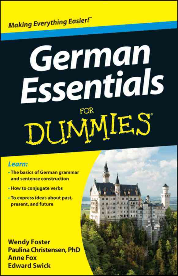 German Essentials for Dummies By Foster, Wendy